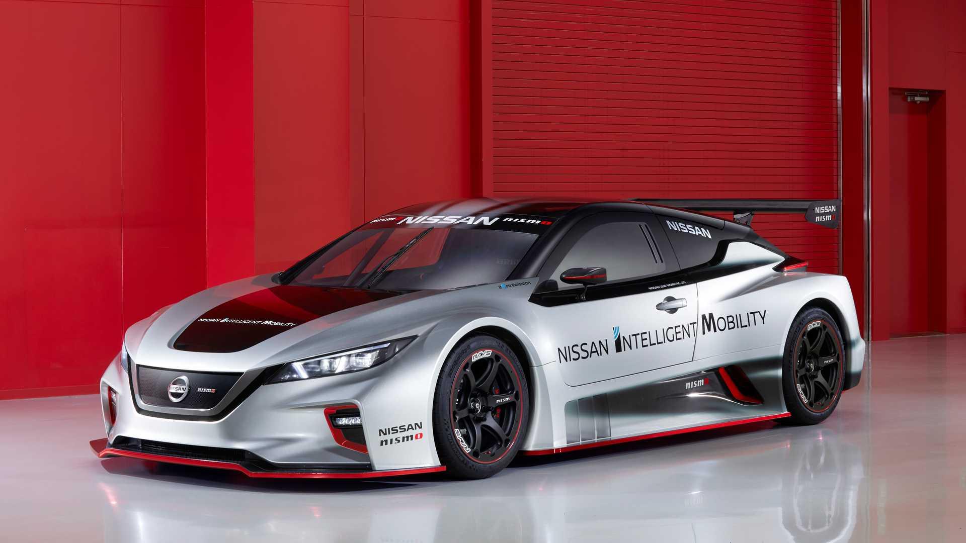 Nissan превратил электромобиль Leaf в гоночную машину 1