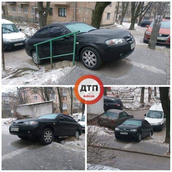 Новый способ дворовой парковки удивил даже бывалых автохамов 1