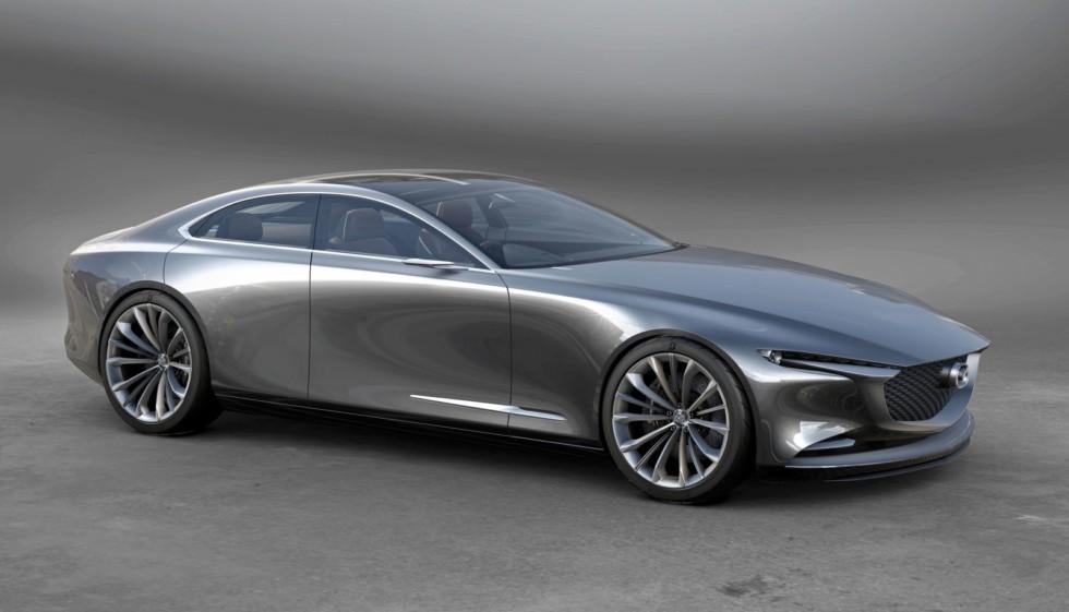 Каким будет первый серийный электрокар Mazda 1