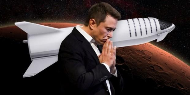 Маск планирует стать первым человеком на Марсе 1