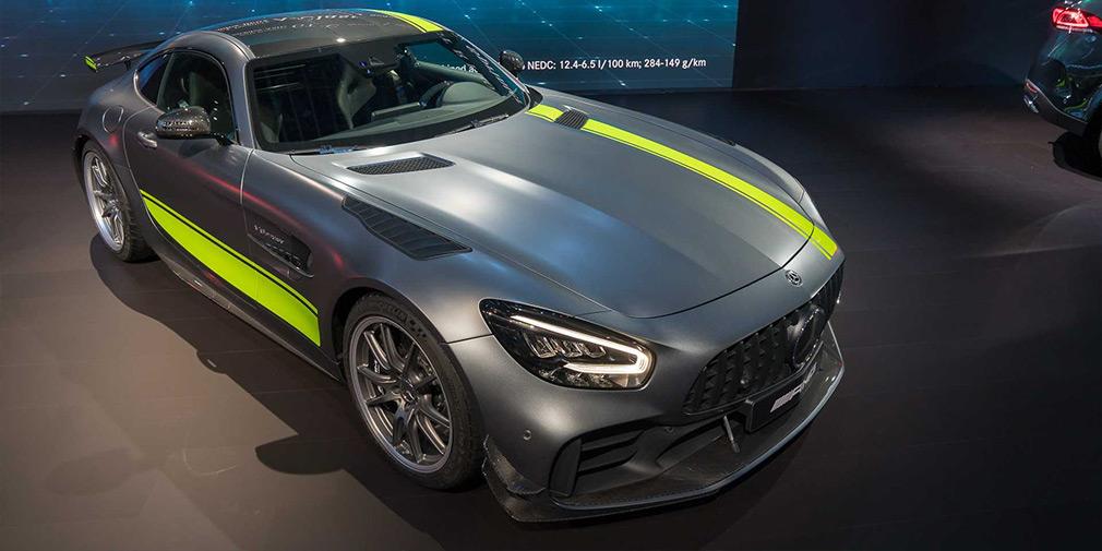 Mercedes модернизировал суперкар AMG GT 1