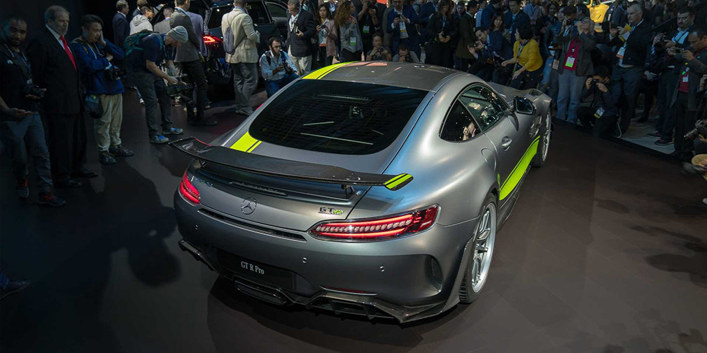 Mercedes модернизировал суперкар AMG GT 2