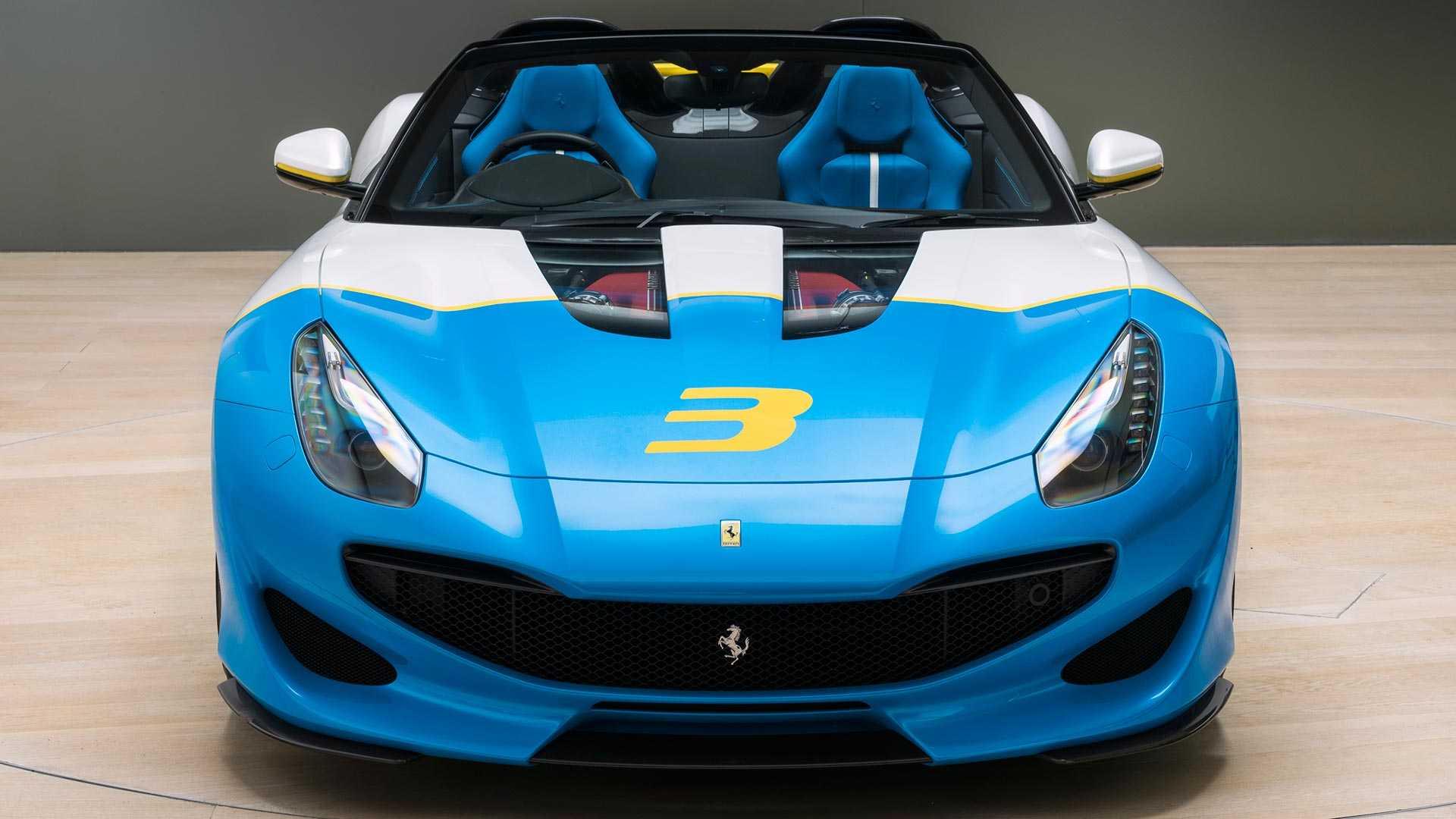 Ferrari показала эксклюзивный родстер SP3JC 1