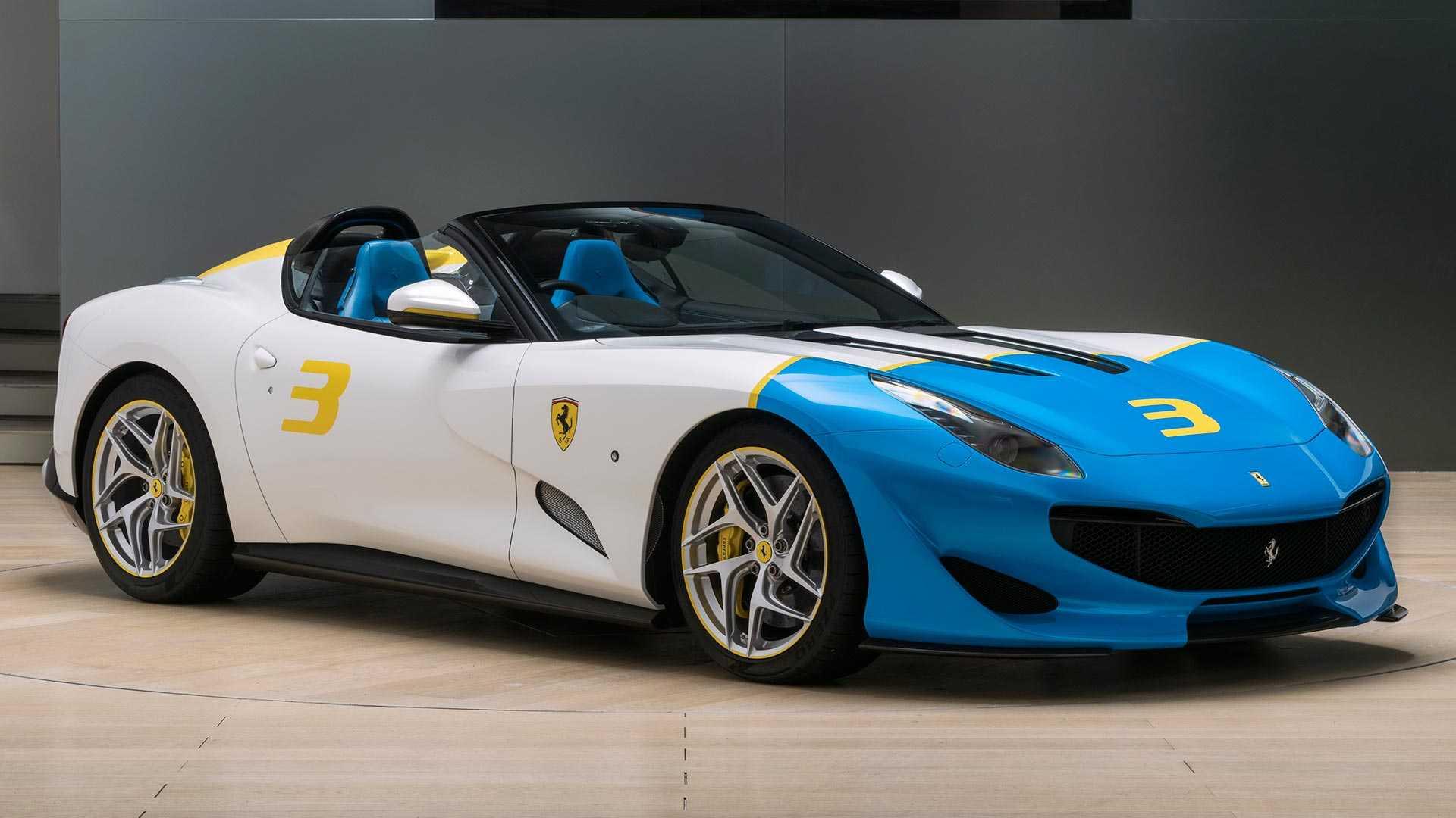 Ferrari показала эксклюзивный родстер SP3JC 2