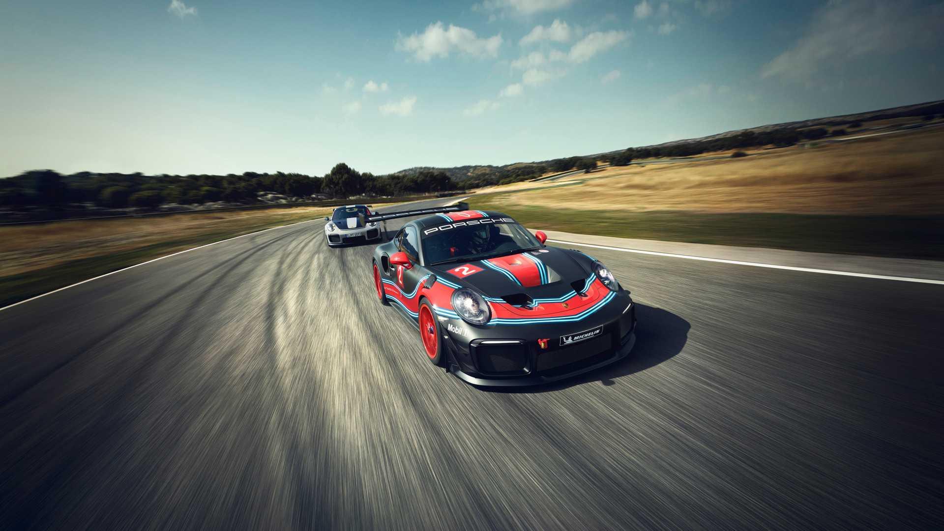 Porsche превратил 911 GT2 RS в гоночное купе Clubsport 1
