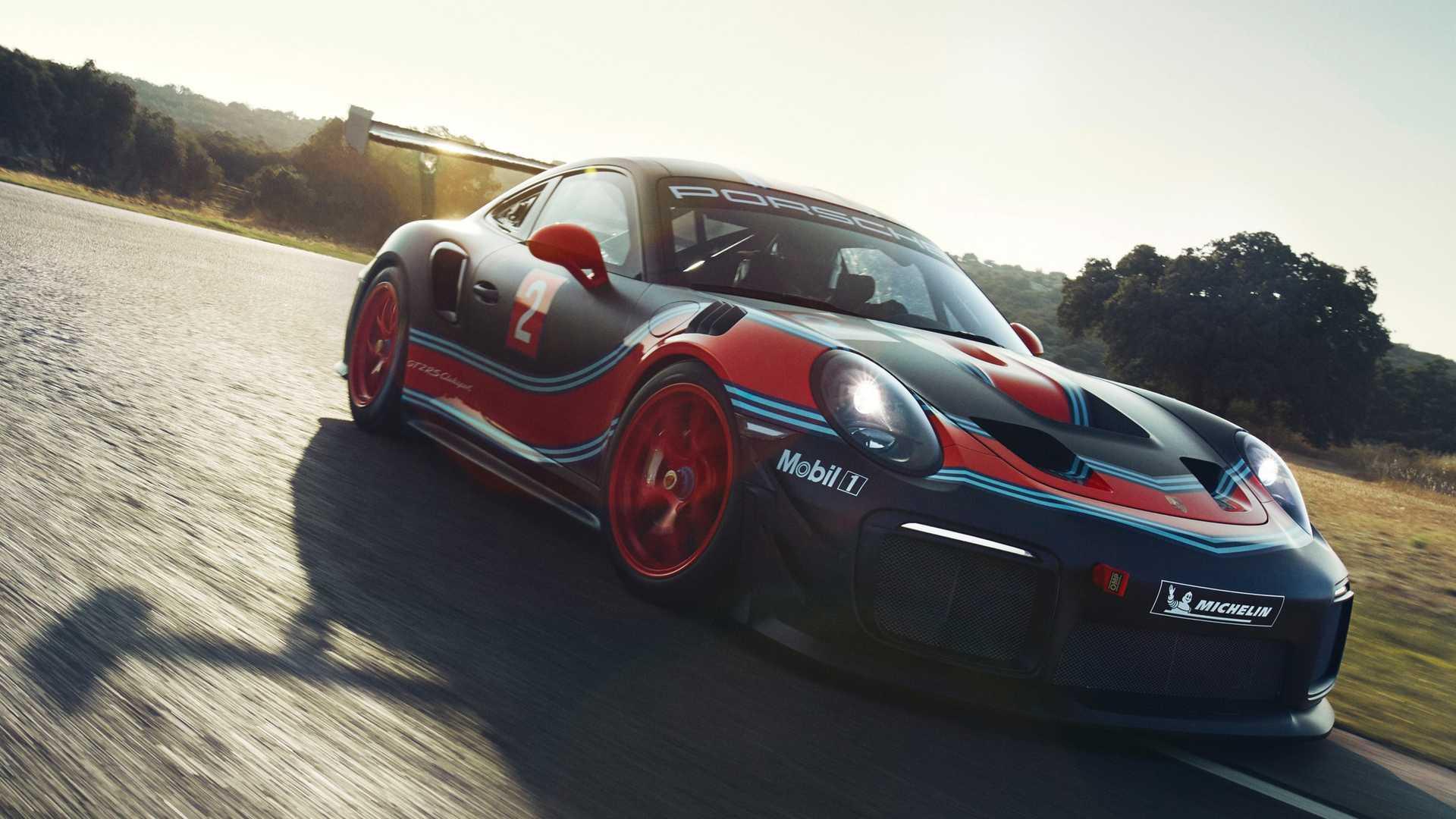 Porsche превратил 911 GT2 RS в гоночное купе Clubsport 3