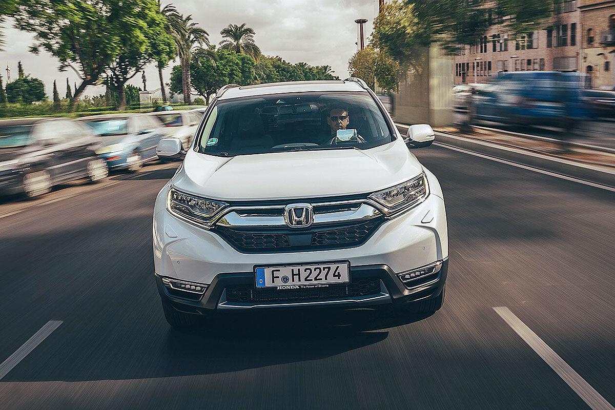 Тест-драйв гибридной Honda CR-V 1