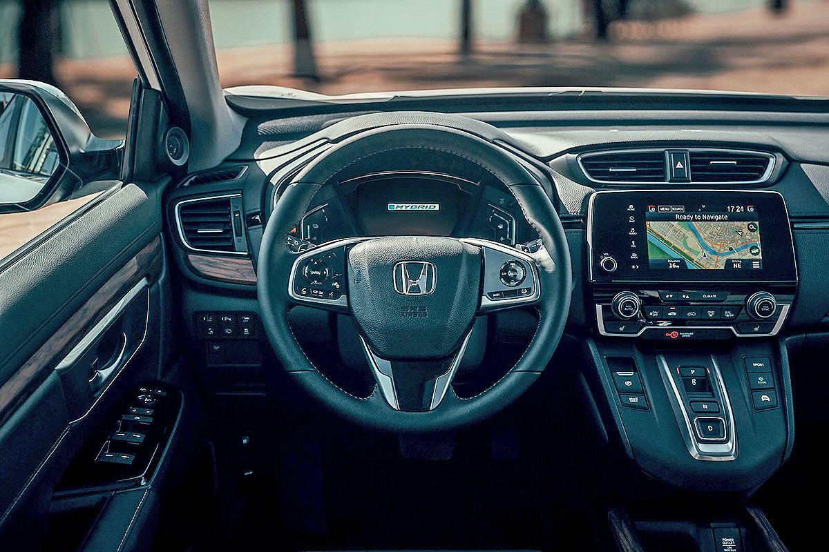 Тест-драйв гибридной Honda CR-V 5