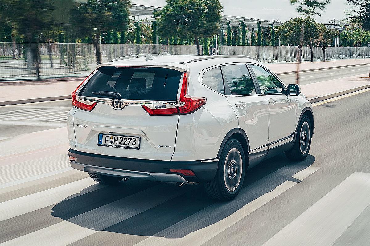 Тест-драйв гибридной Honda CR-V 3