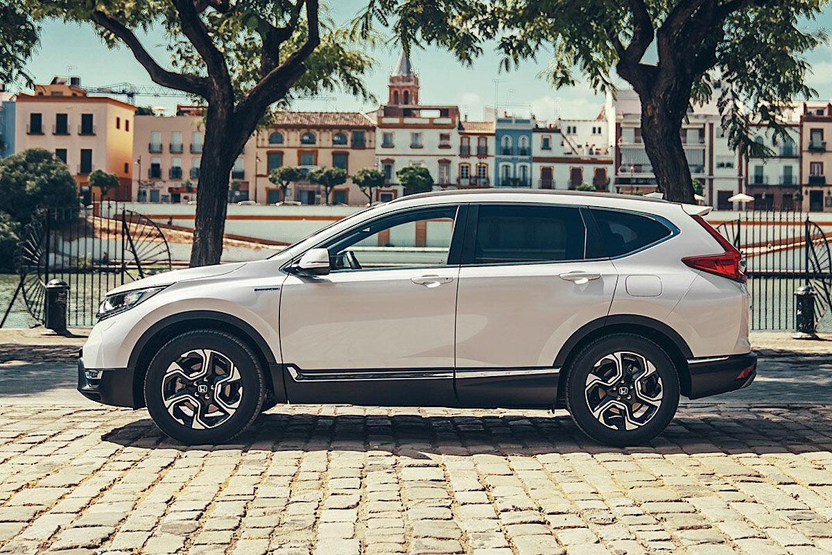 Тест-драйв гибридной Honda CR-V 2