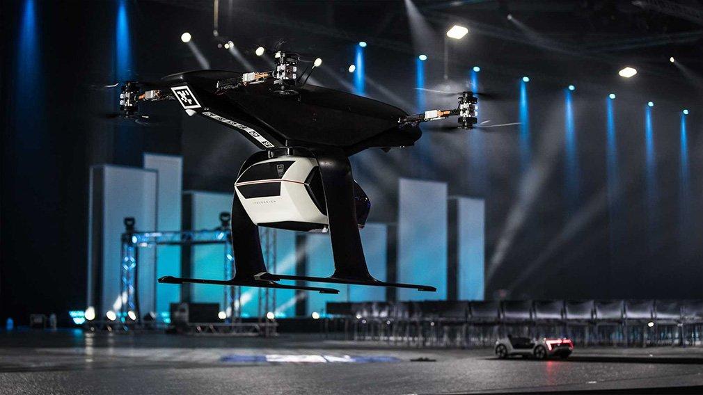 Audi провела испытания беспилотного летающего такси 1