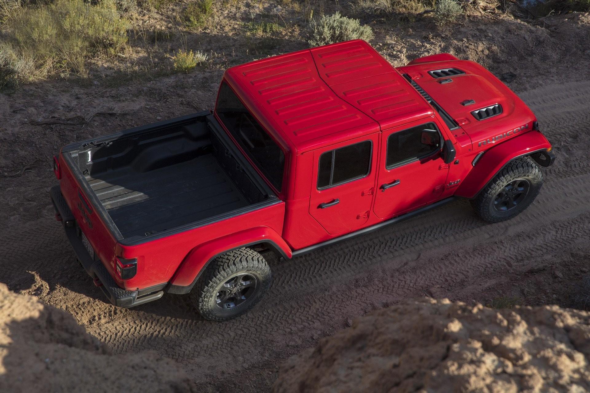 Jeep представил самый проходимый пикап 3