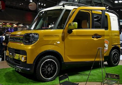 Suzuki довела до конвейера ещё один маленький «внедорожник» 1