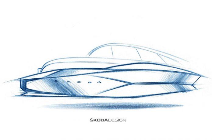 Skoda готовится к запуску своего первого электрокара 1