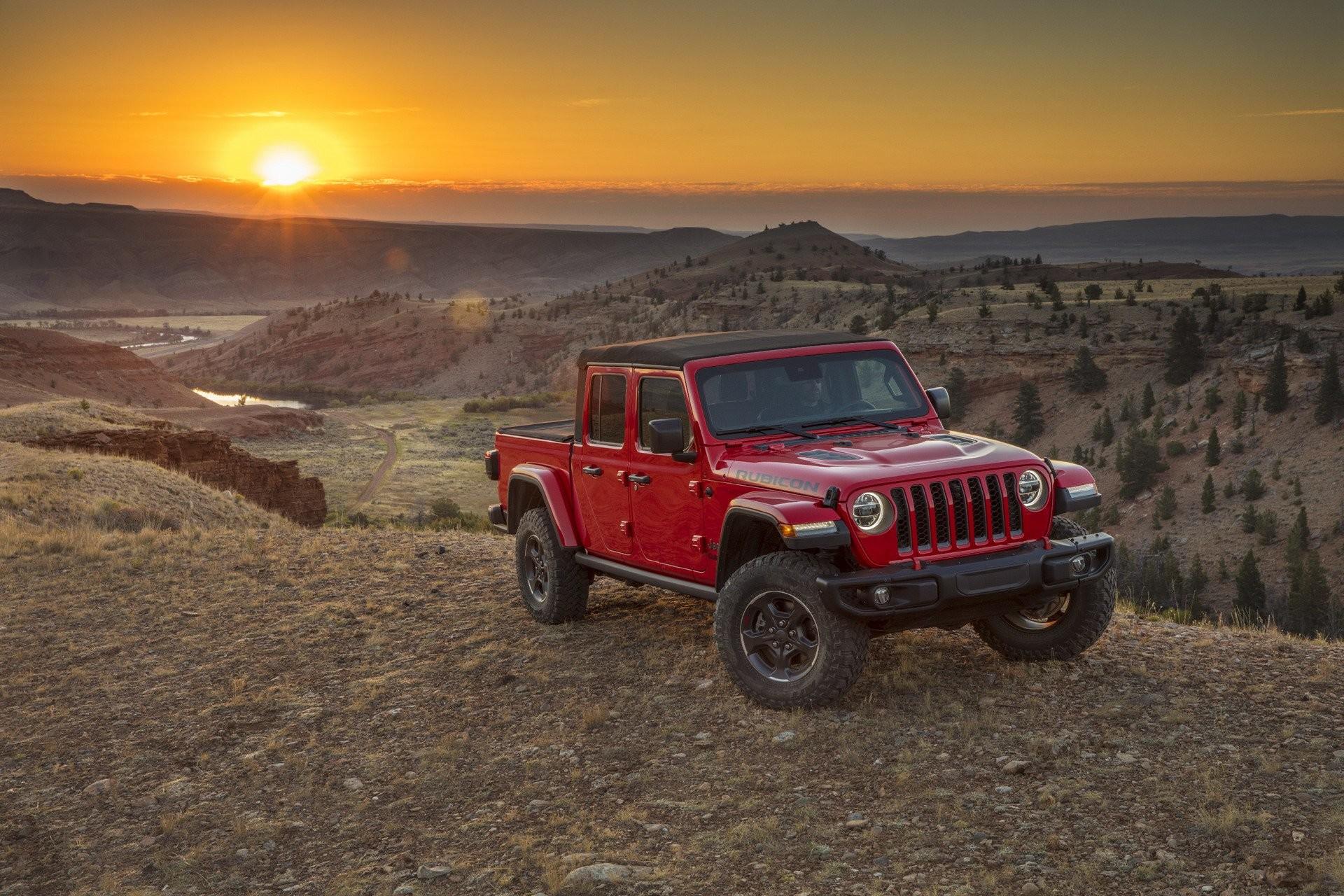 Jeep представил самый проходимый пикап 4