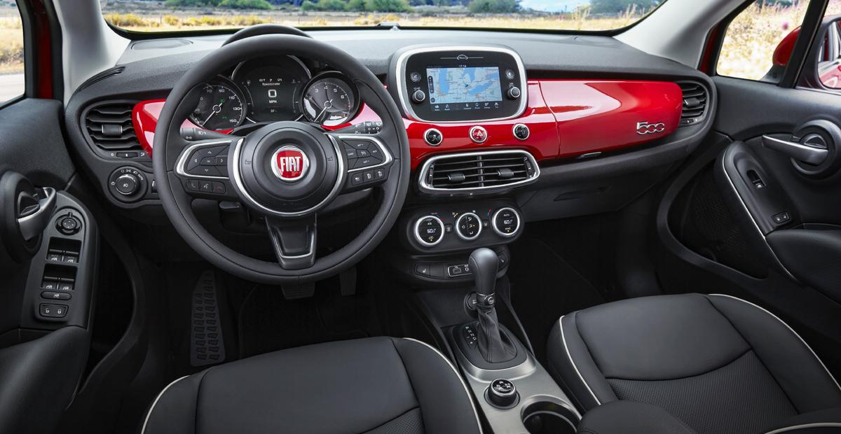 Представлена самая мощная версия обновленного Fiat 500X 2