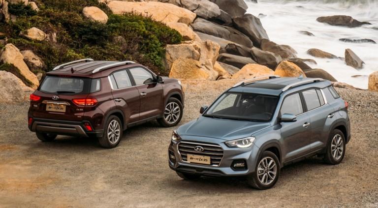 Hyundai ix35 обновили через год после дебюта 2