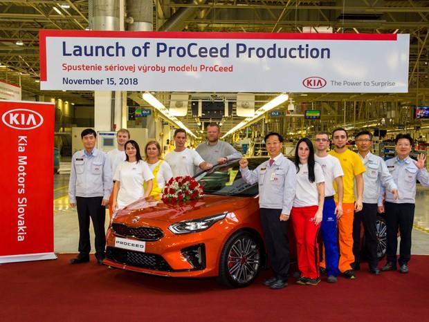 Новый Kia ProCeed запустили в производство в Словакии 1