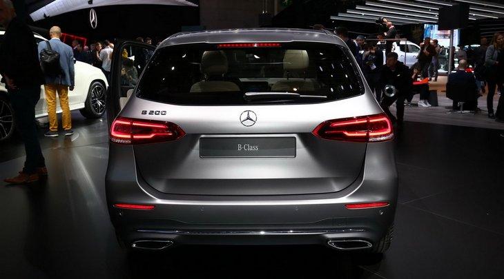 Mercedes начал производство минивэна B-Class 2019 модельного года 2