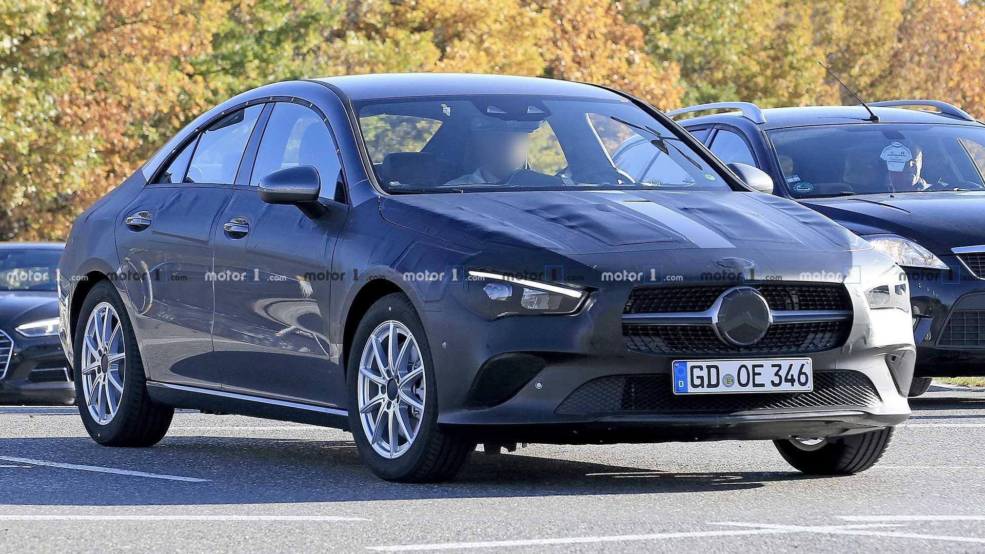 Новый Mercedes-Benz CLA может дебютировать на CES 1