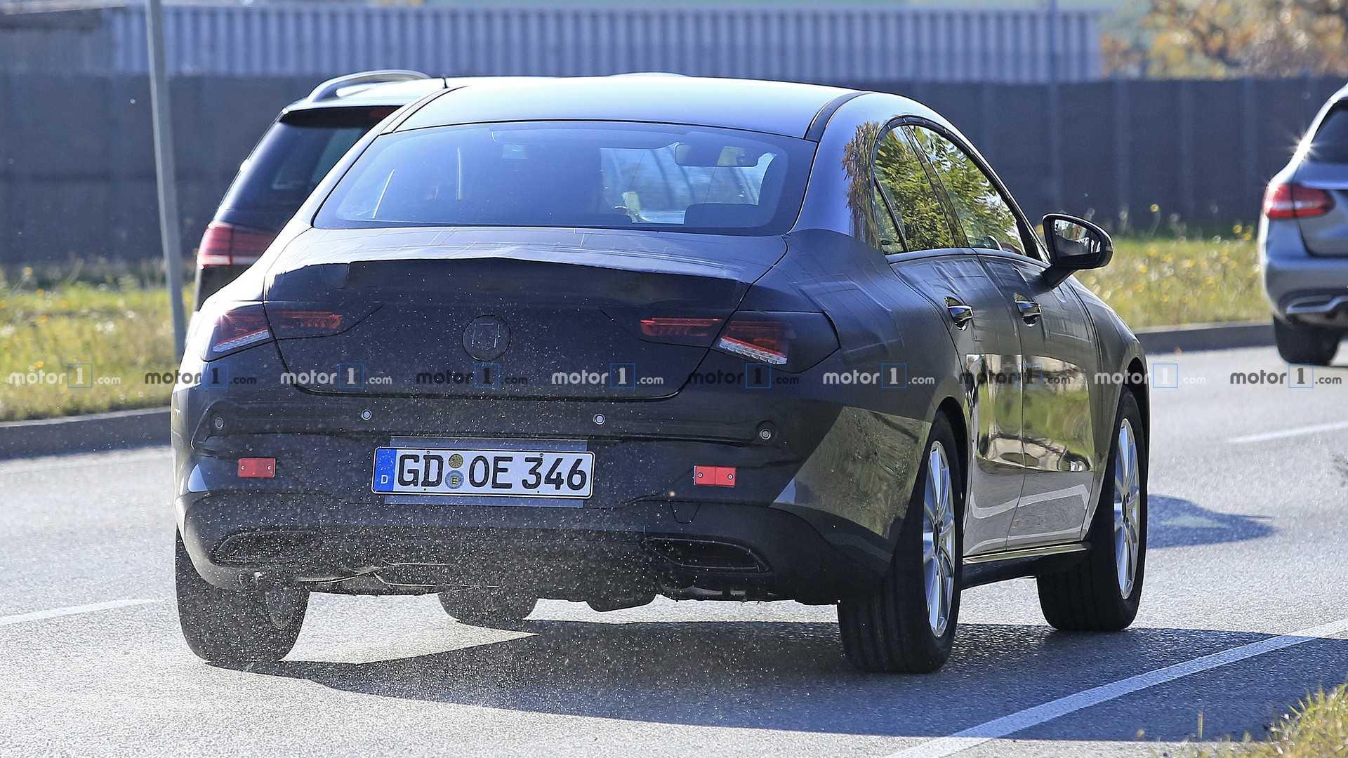 Новый Mercedes-Benz CLA может дебютировать на CES 2