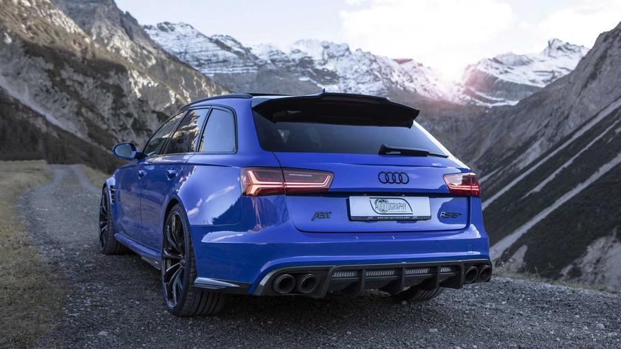 Тюнеры построили 725-сильный универсал Audi RS6 2