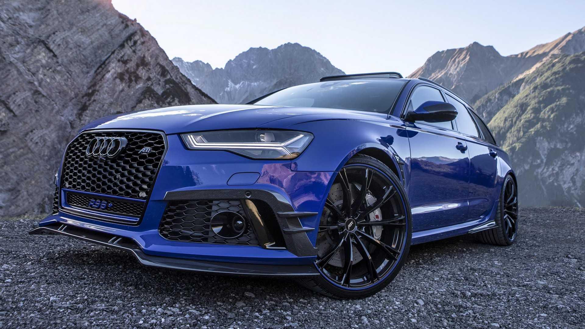 Тюнеры построили 725-сильный универсал Audi RS6 1