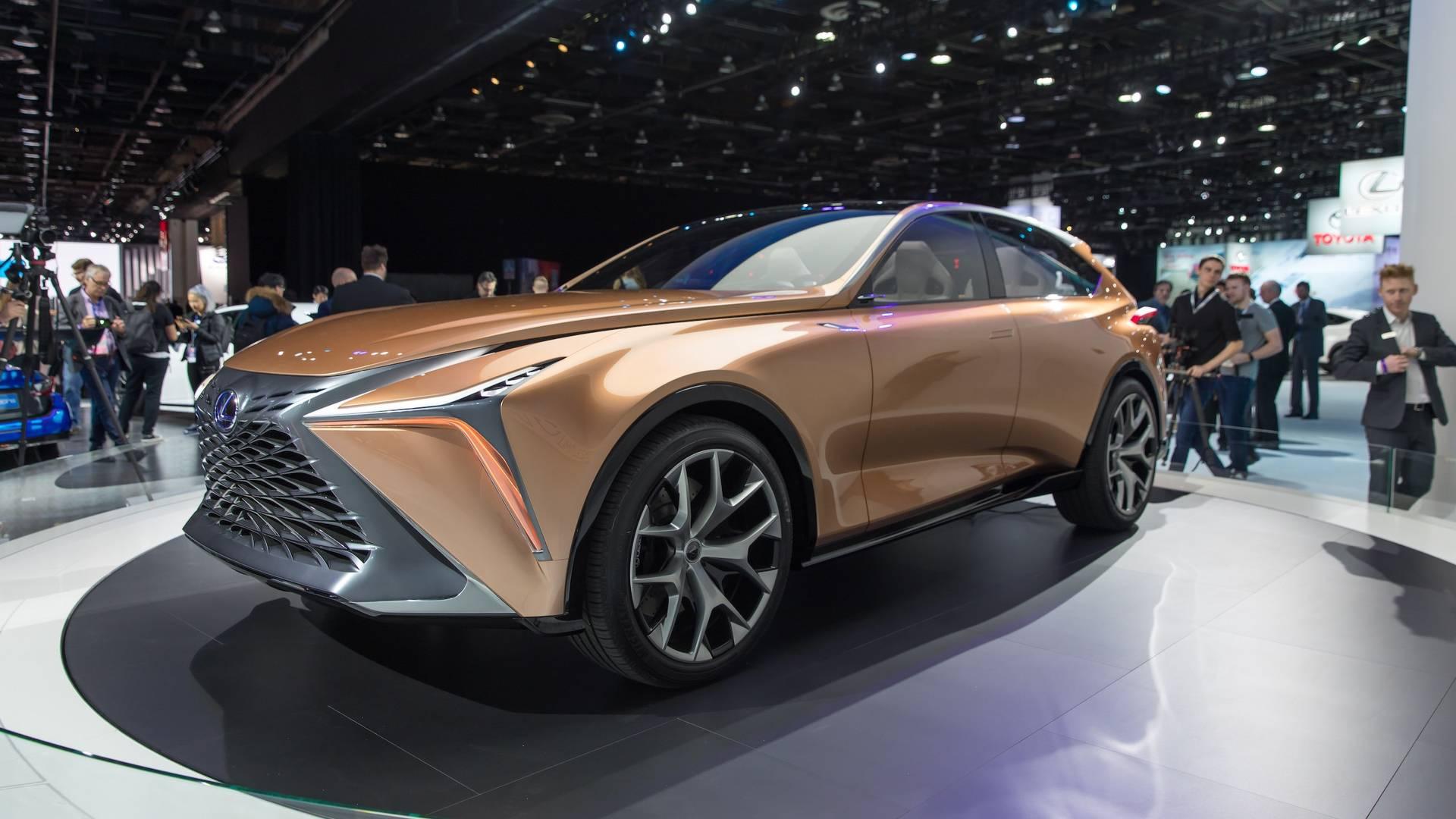 Lexus готовит конкурента Lamborghini Urus 2