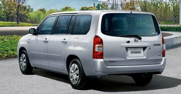 Универсал Toyota Probox стал гибридом 4