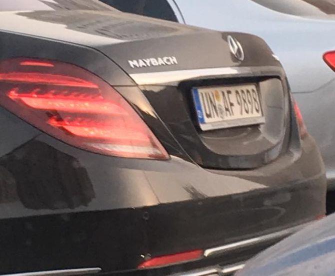 В Украине засняли новый Mercedes-Maybach S-Class на еврономерах 1
