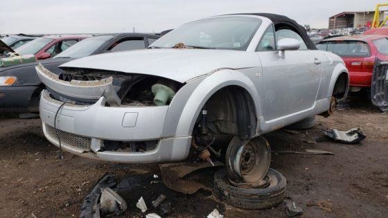 На свалке нашли родстер Audi TT в рабочем состоянии 1