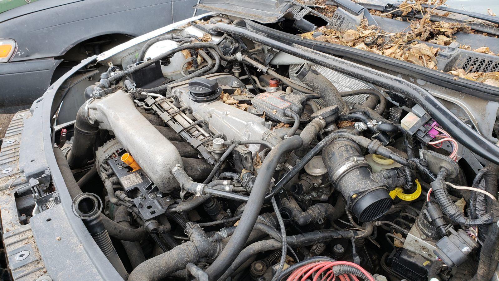 На свалке нашли родстер Audi TT в рабочем состоянии 3