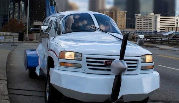 «Самолёт», который может ездить по обычным дорогам, выставили на продажу 1