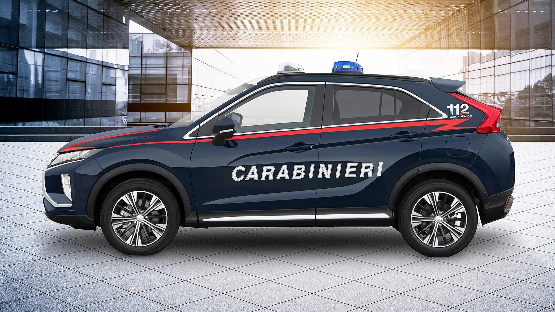 Итальянскую полицию пересадили на Mitsubishi 1