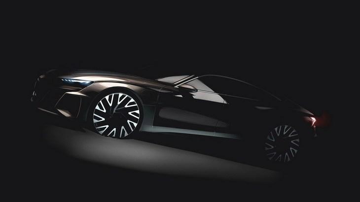 Audi бросит вызов Tesla с новым e-Tron GT 1