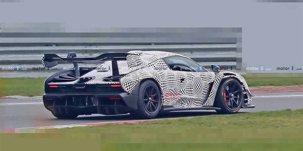 McLaren приступил к испытаниям трековой версии гиперкара Senna 1