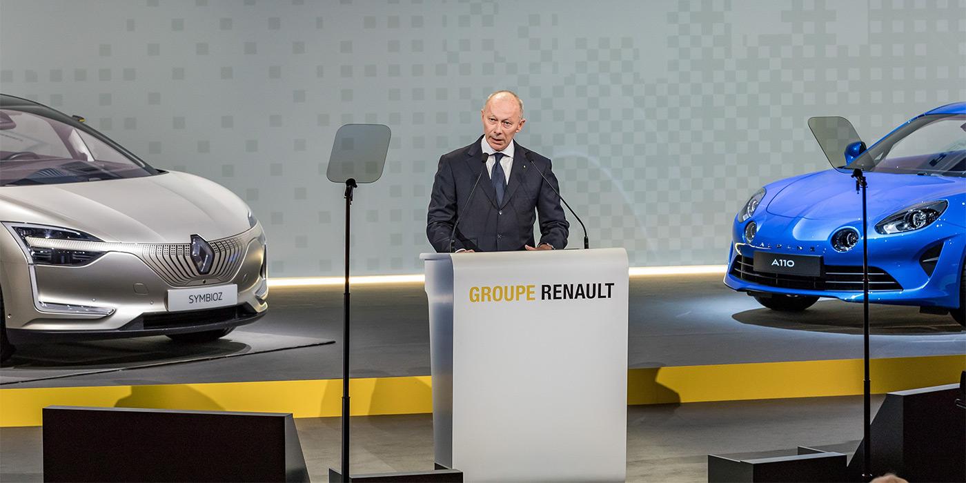 В Renault назначили временного президента 1