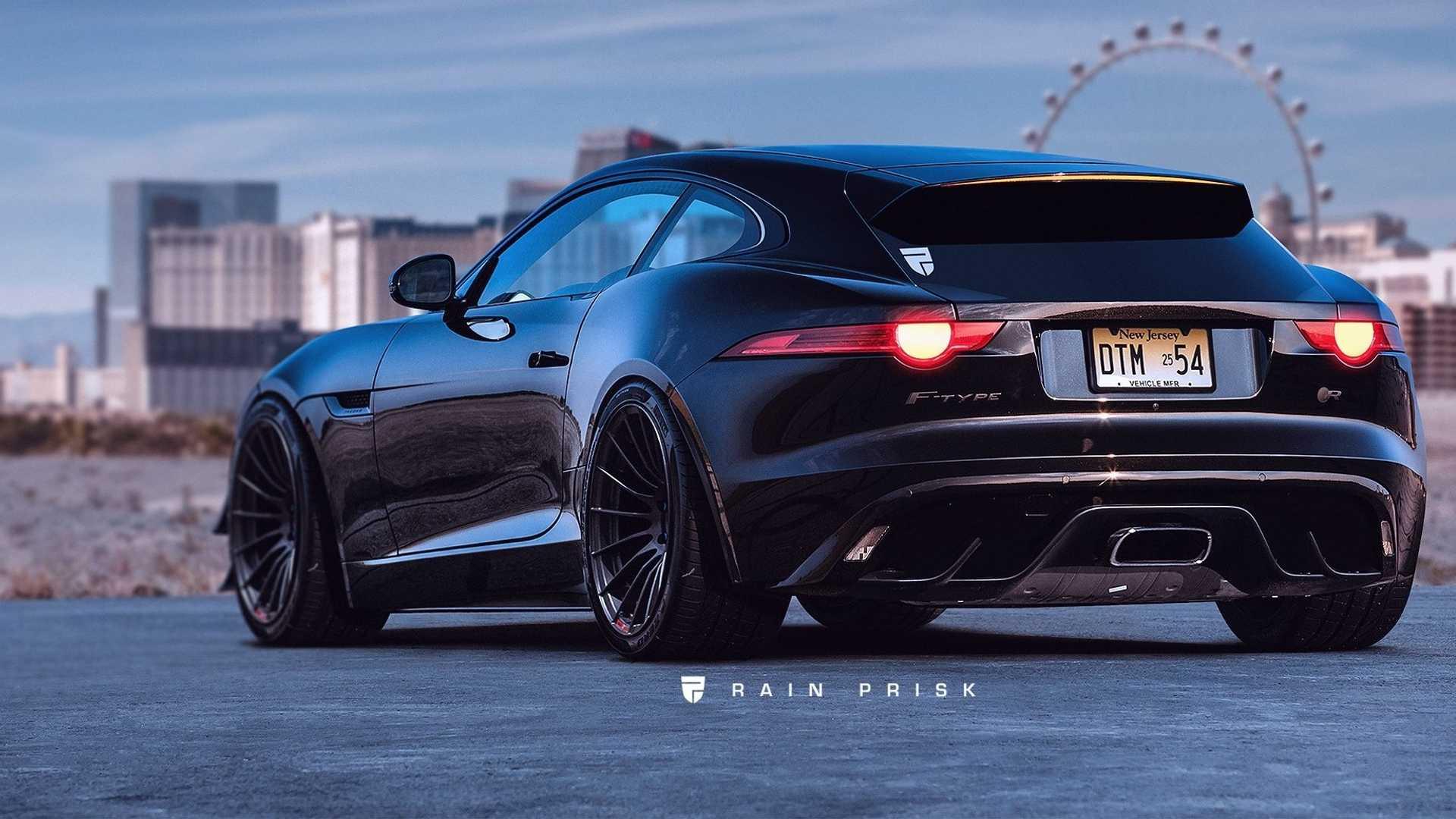 Jaguar F-Type превратили в универсал Shooting Brake 1