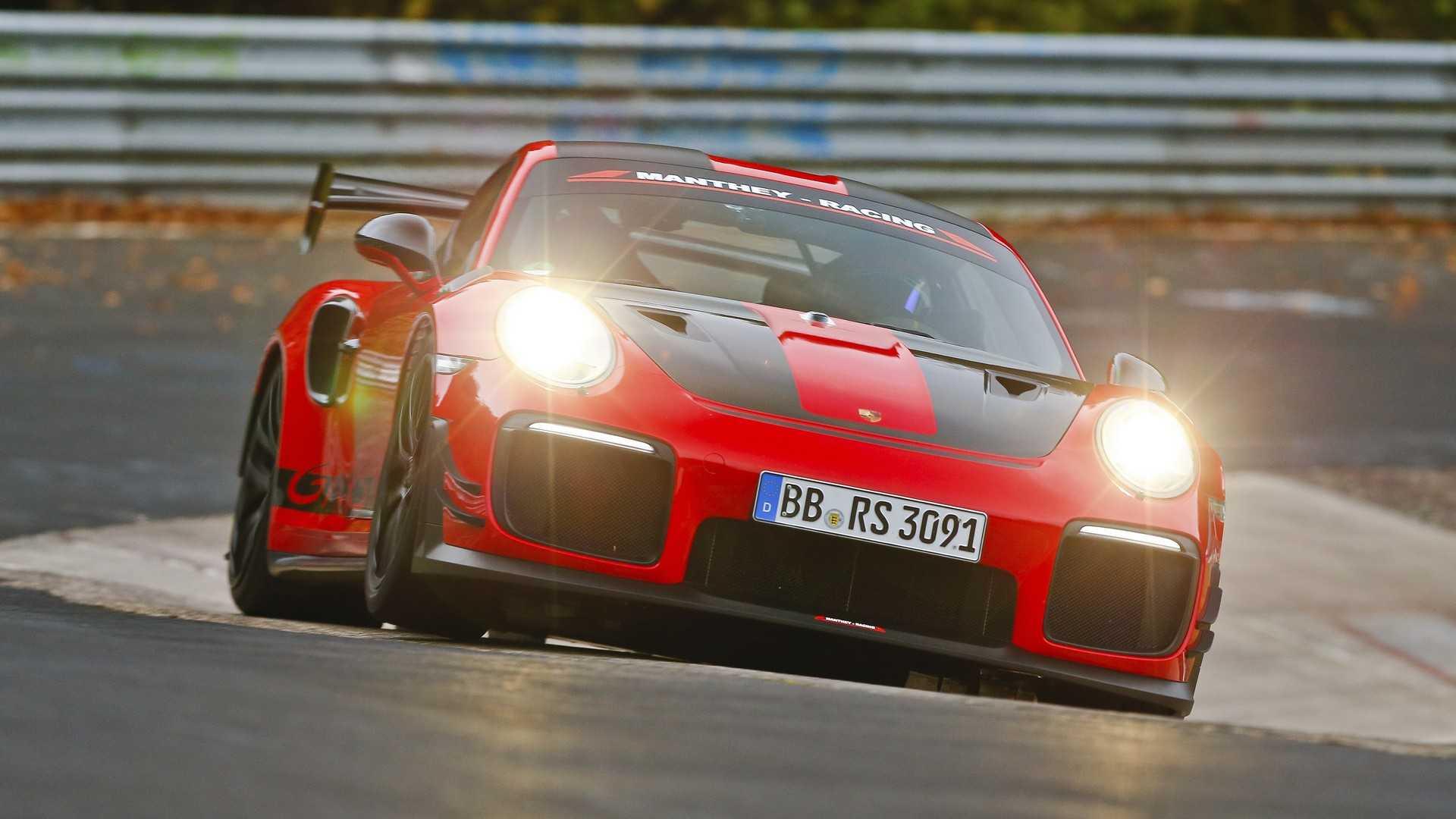 Porsche 911 GT2 RS MR попытается побить собственный рекорд 1