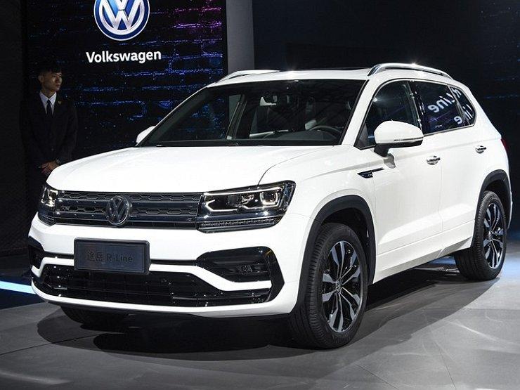 Новый Volkswagen Tharu в версии R-Line поступил в продажу 1