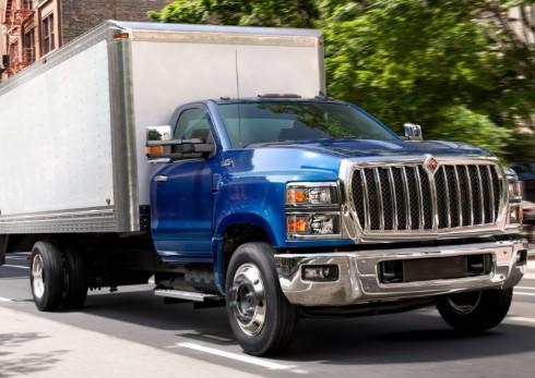 Представлены грузовики International CV Series 2