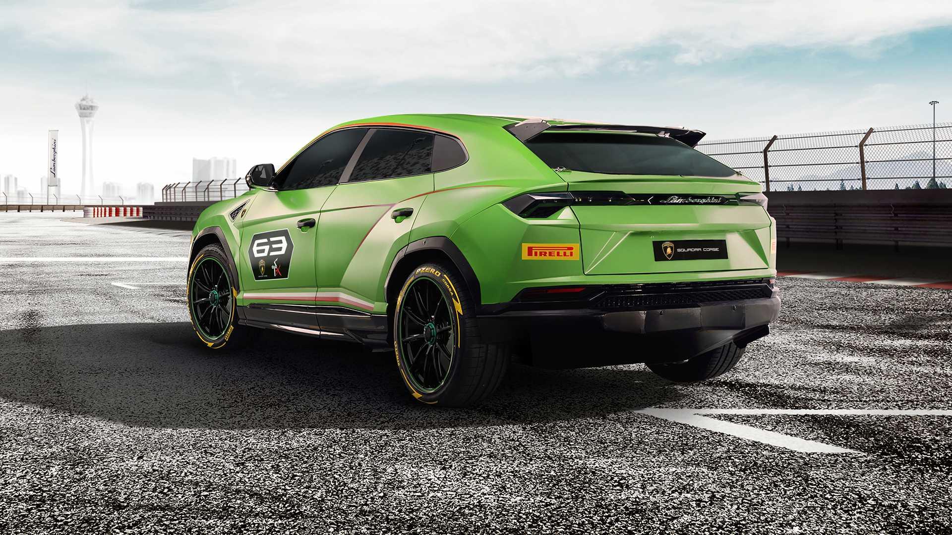 Lamborghini сделала гоночный кроссовер Urus ST-X 3