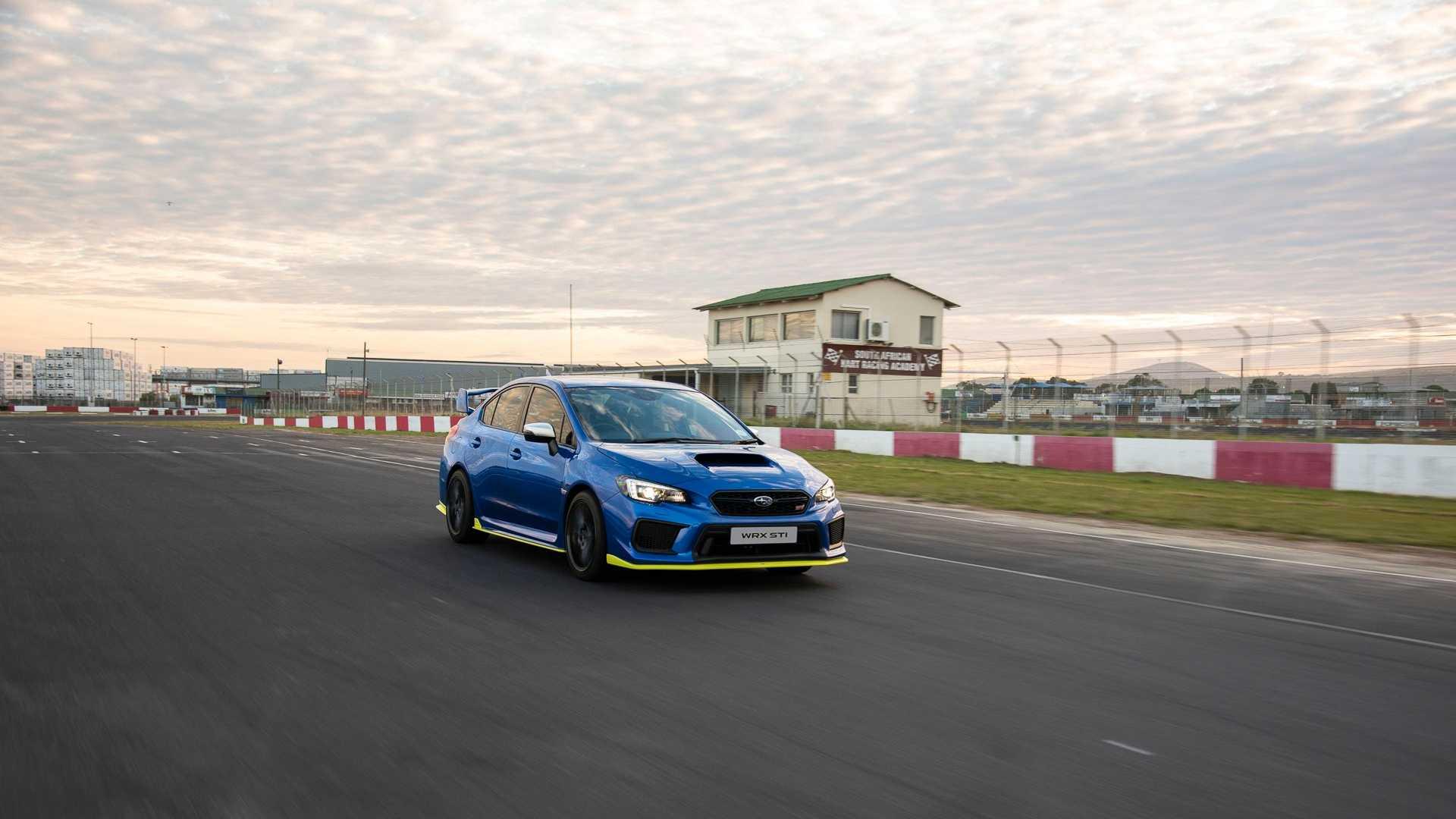 Subaru презентовала самую мощную серийную WRX STI 2