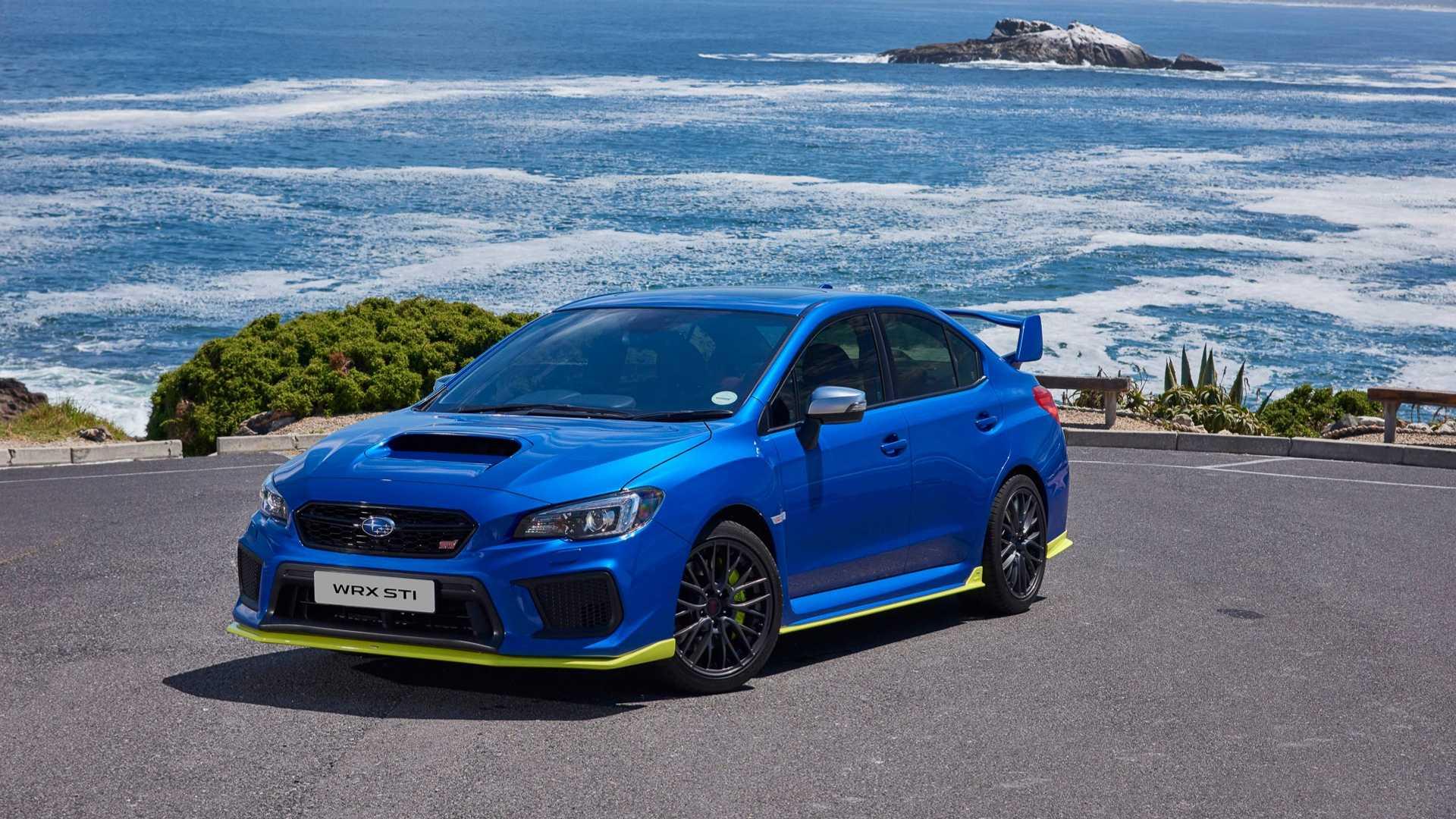 Subaru презентовала самую мощную серийную WRX STI 1