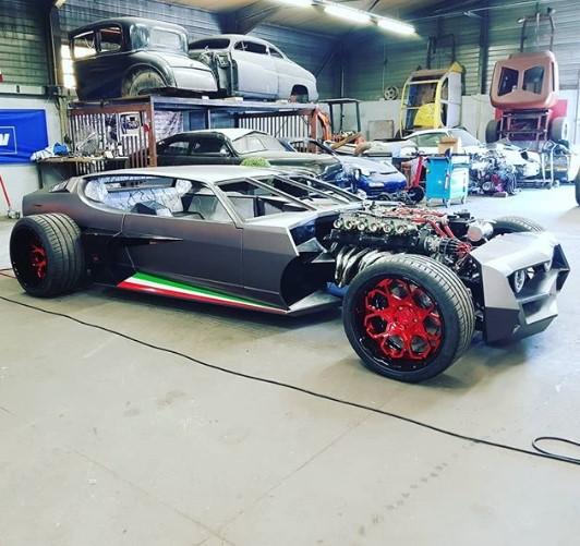 Французы превратили Lamborghini в хот-род 1