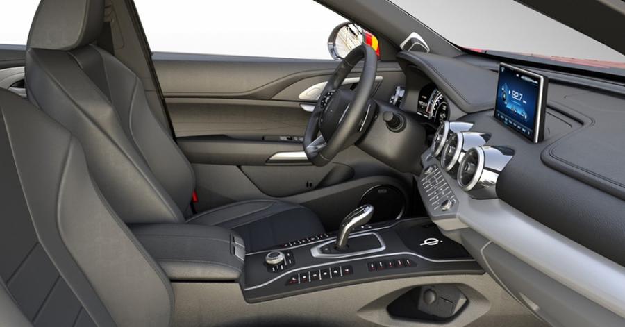 Гибридный купеобразный кроссовер Wey P8 GT представят в Гуанчжоу 3