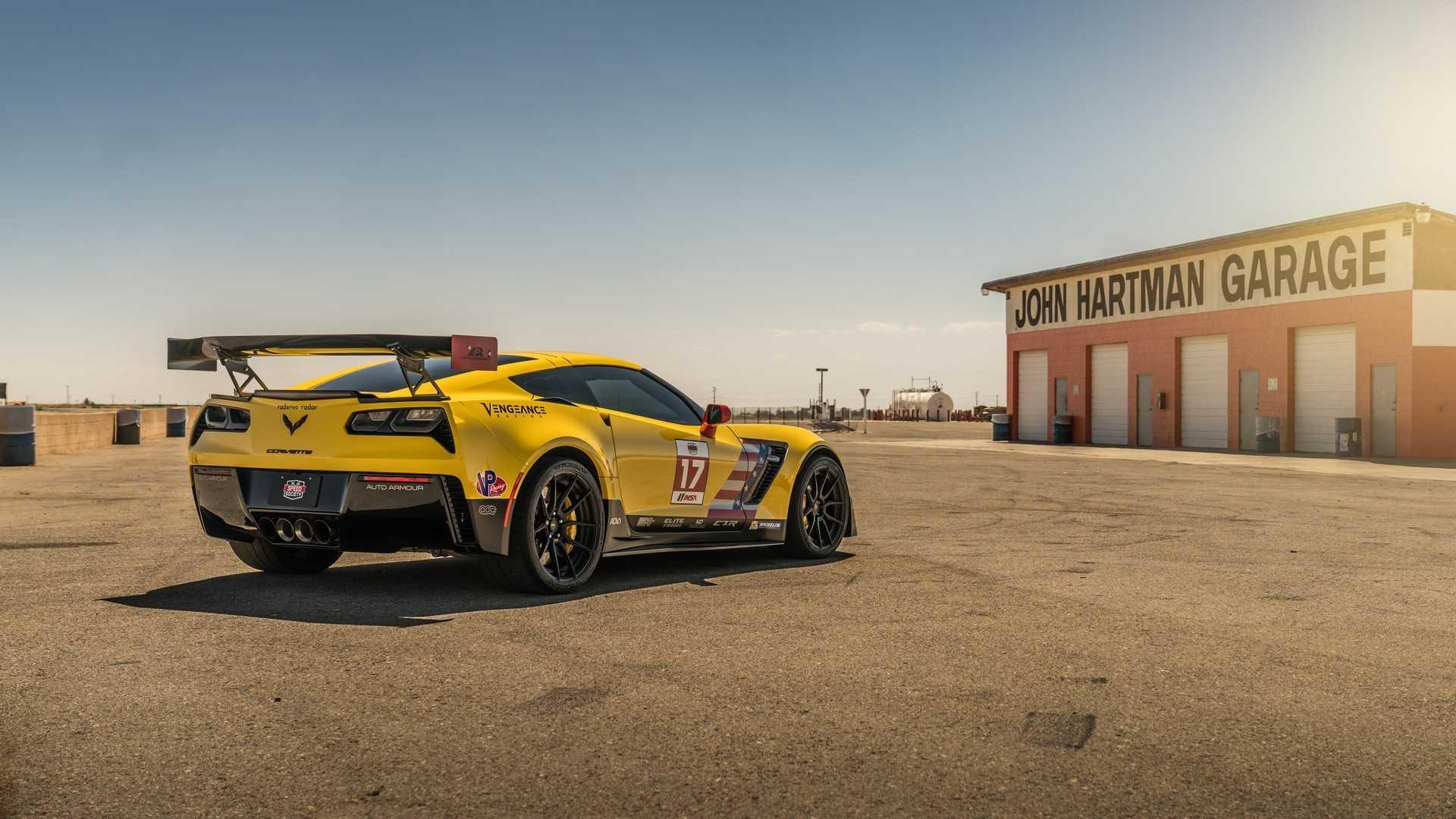 Тюнеры превратили дорожный Corvette Z06 в аналог гоночного C7.R 2