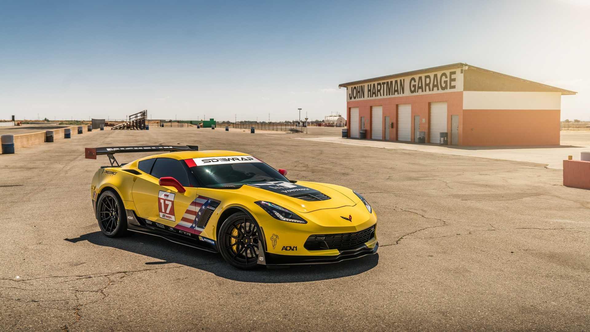 Тюнеры превратили дорожный Corvette Z06 в аналог гоночного C7.R 1