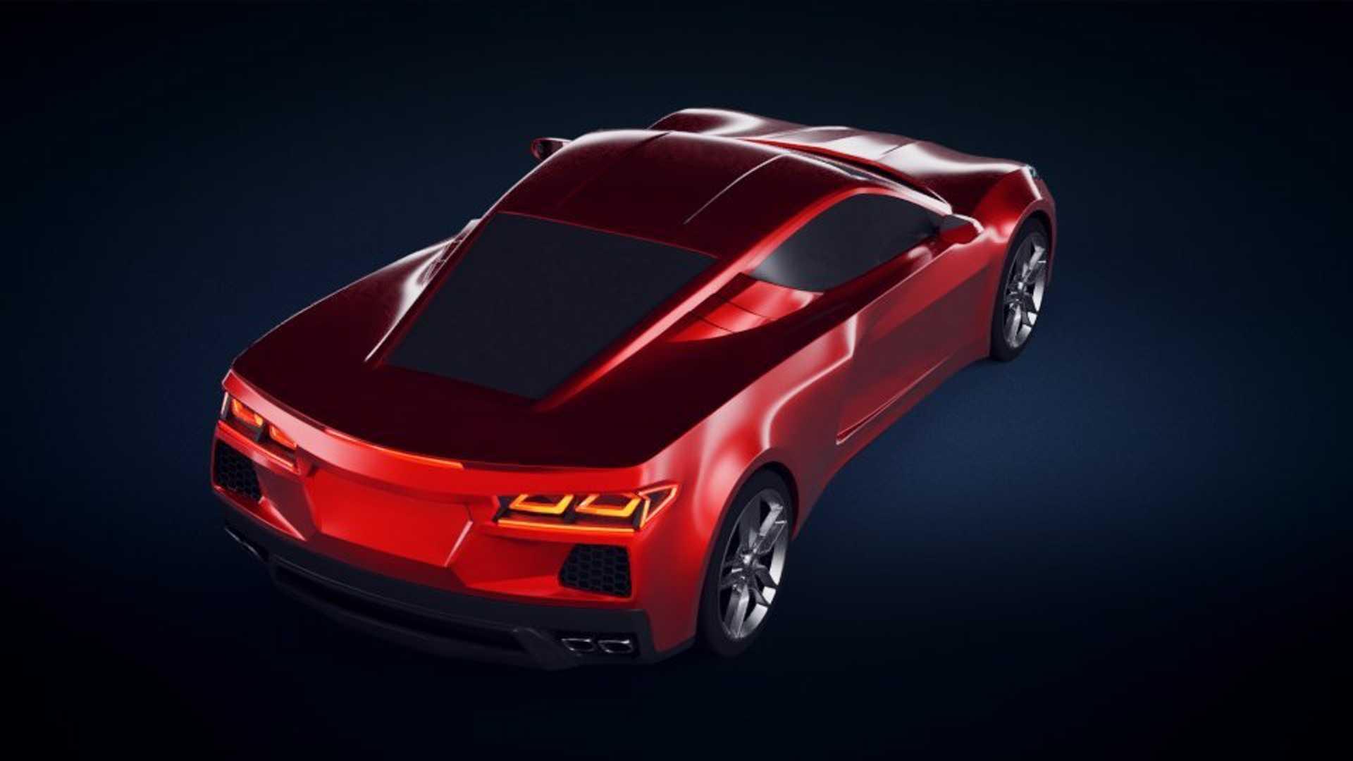 Фанаты Corvette представили гоночную версию среднемоторного спорткара 2
