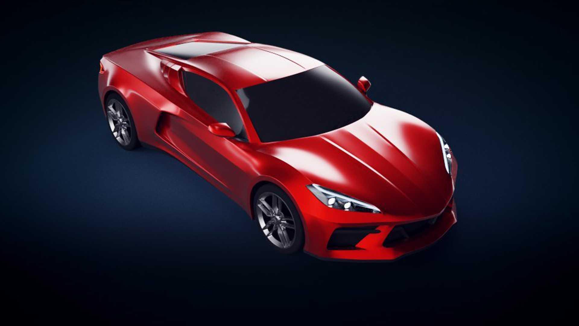 Фанаты Corvette представили гоночную версию среднемоторного спорткара 1